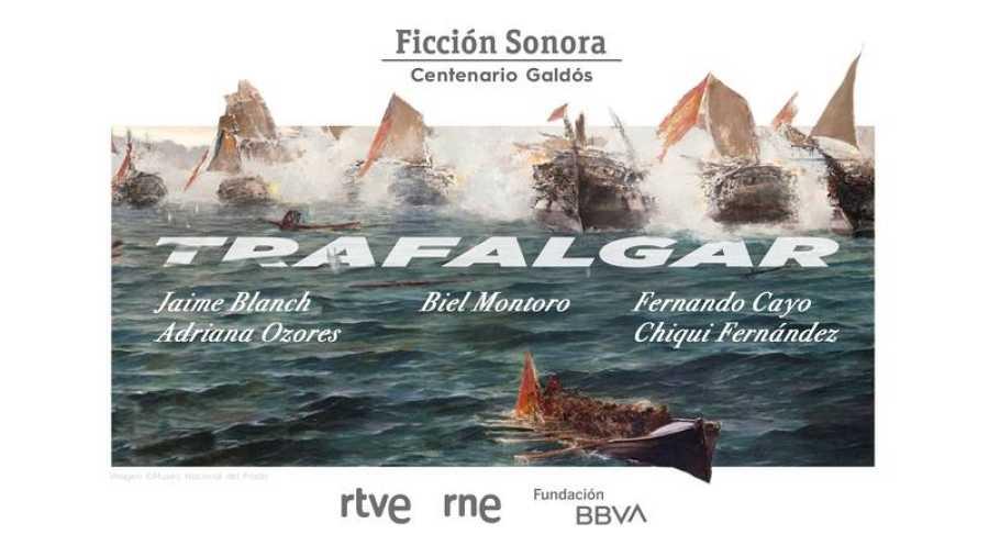 'Trafalgar', la nueva ficción sonora de RNE y la Fundación BBVA