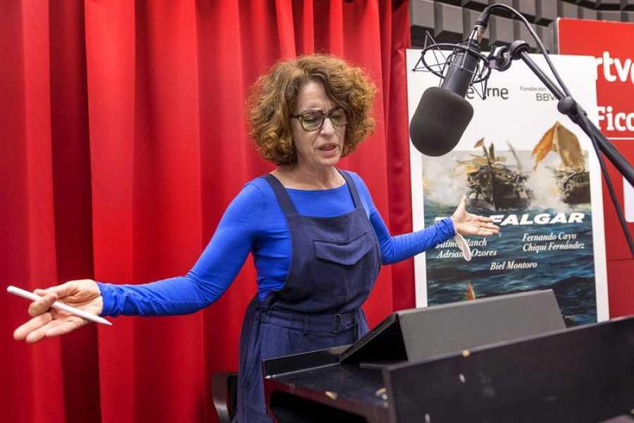 Adriana Ozores, en los ensayos