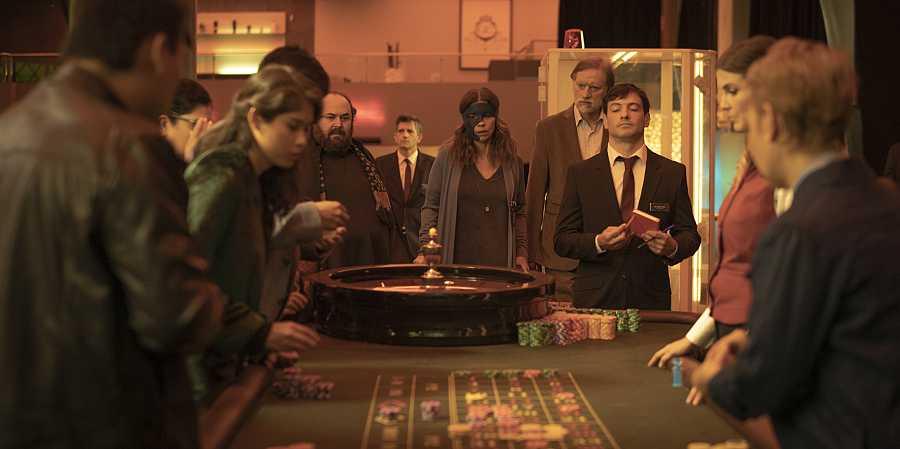 Ana Tramel en el casino