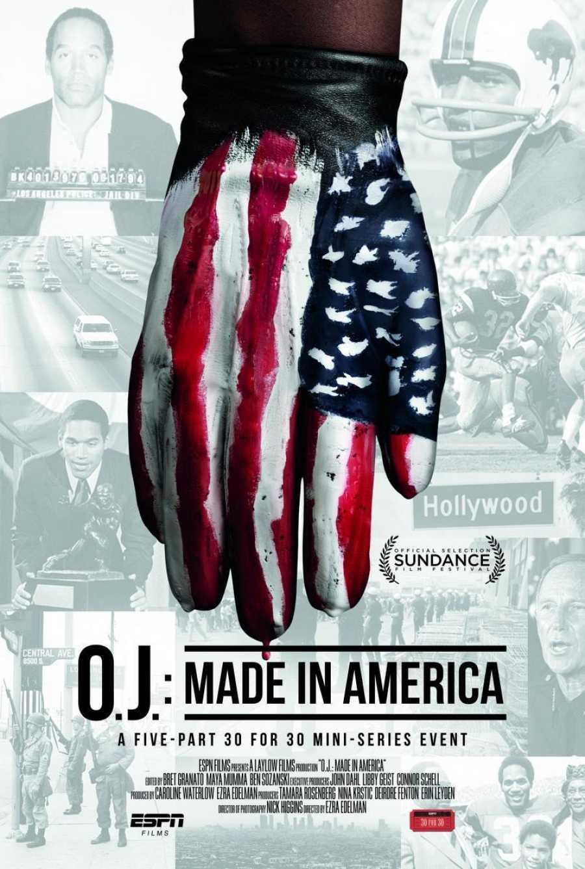 Cartel del documental de 'O. J.: Made in America'