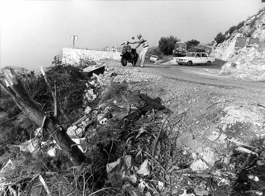 El lugar del accidente donde perdió la vida Grace Kelly
