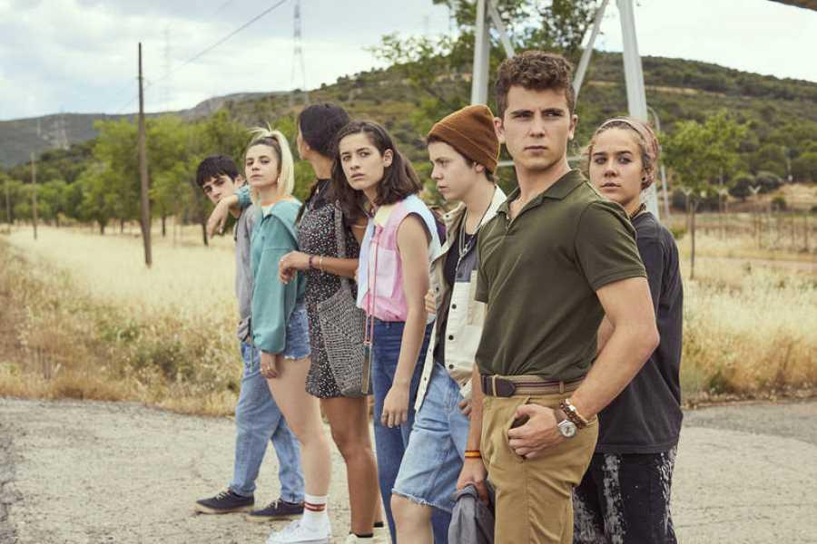 Alumnos de la segunda temporada de 'HIT