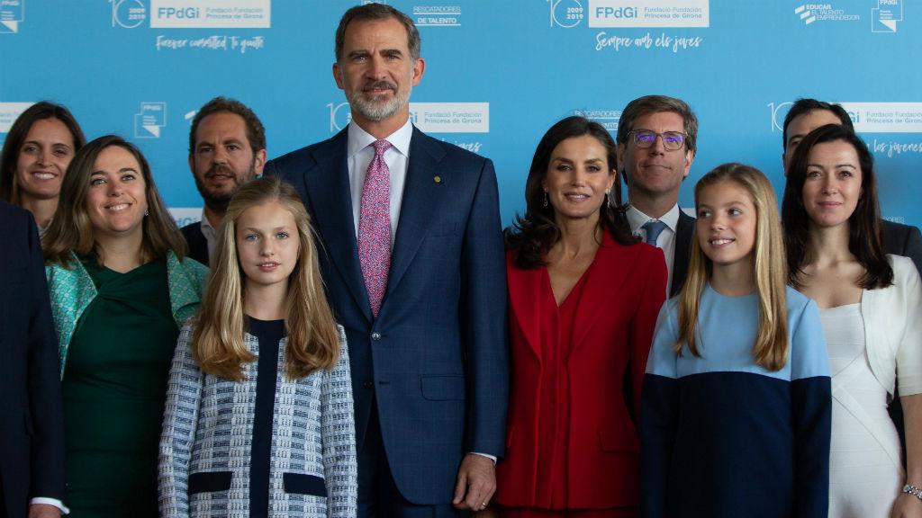 Primera Visita Oficial De La Princesa Leonor A Cataluña En Medio De Las Protestas Independentistas