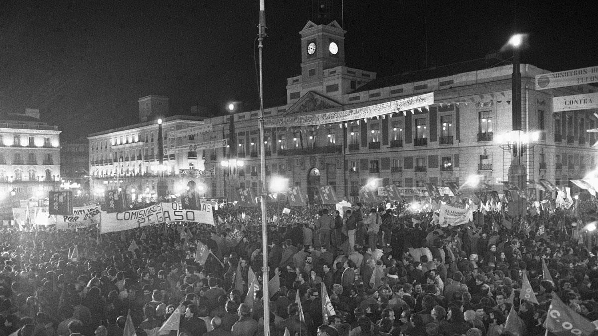 30 años de la mayor huelga general de España
