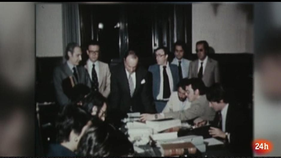 Parlamento - 40 aniversario - 40 años de la firma de los ponentes de la Constitución - 14/04/2018
