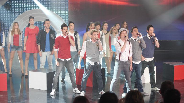 Disco del año 2011 - Actuación de Auryn