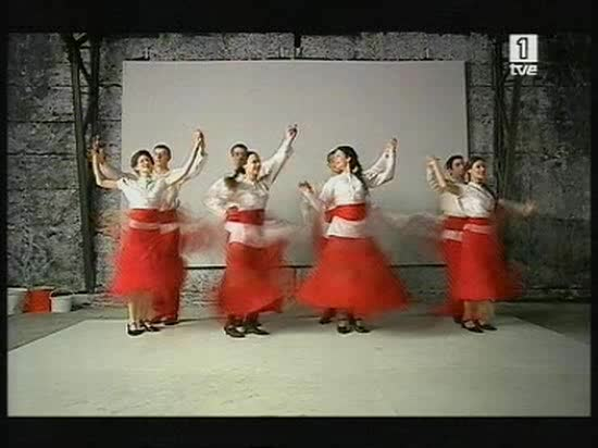Eurovisión 2008 - Actuación de Polonia con Isis Gee
