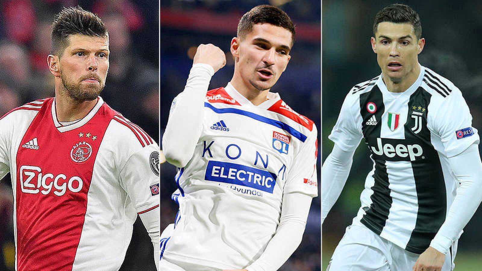 Ajax, Olympique de Lyon y Juventus, rivales de los españoles en octavos de Champions