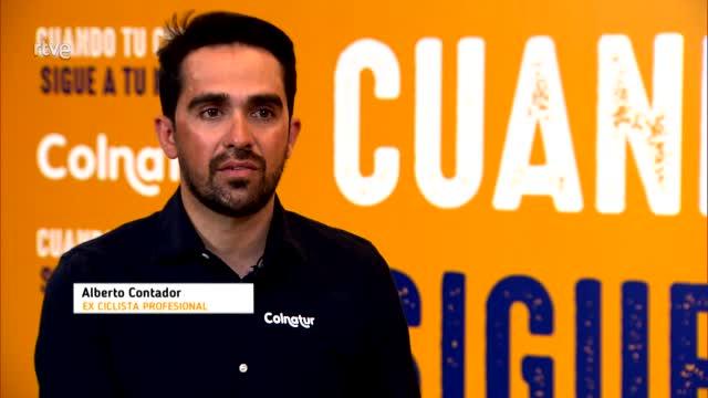 """Alberto Contador: """"Lo más importante en el Giro es tener presencia en carrera"""""""