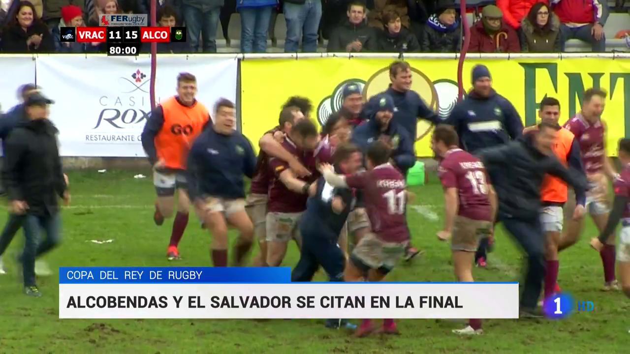 Alcobendas Y El Salvador Se Citan En La Final De La Copa Del Rey De Rugby