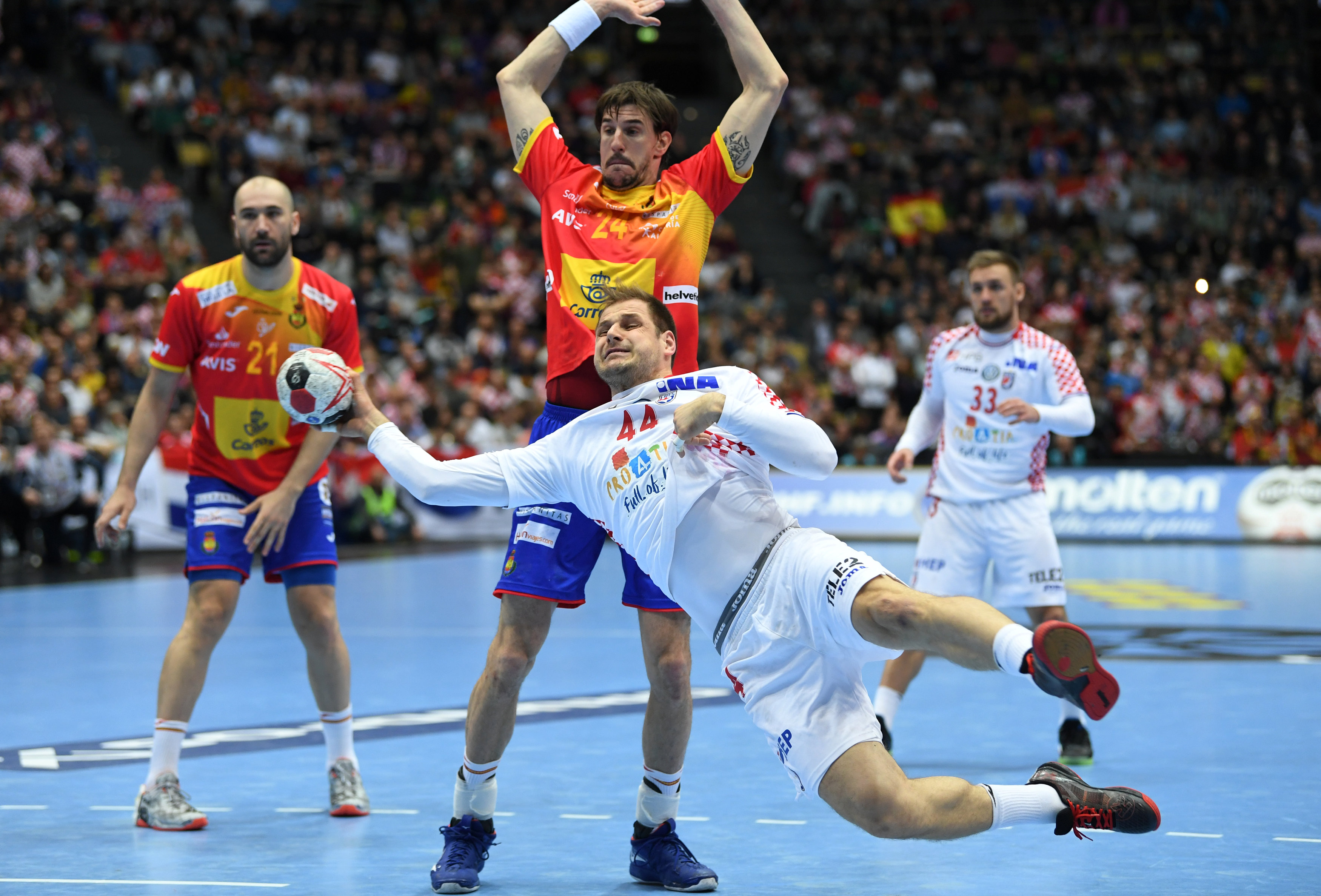 Alemania, Francia y Brasil esperan a España en la segunda fase