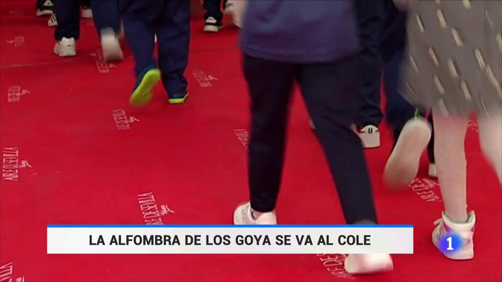 La alfombra roja de los Goya acaba en un colegio de Málaga