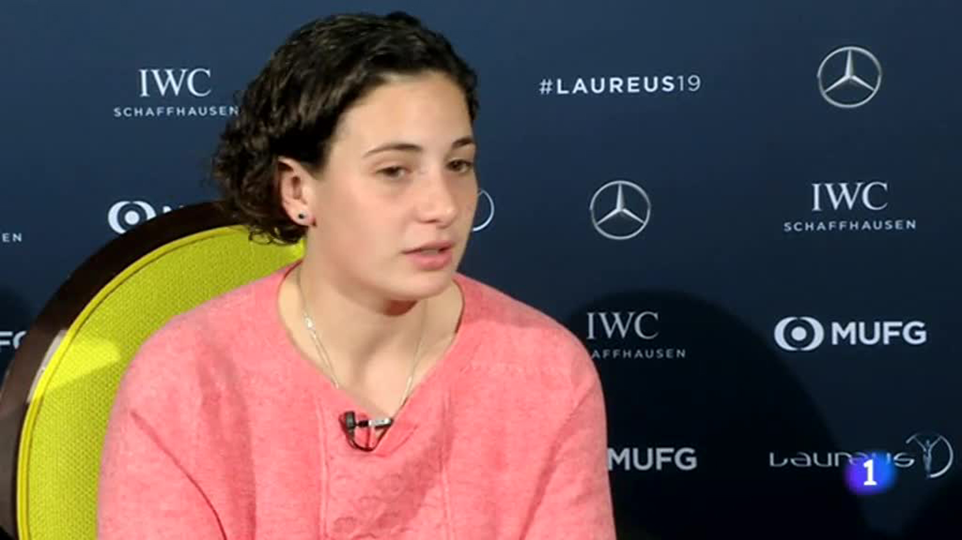 """Ana Carrasco, a TVE: """"En nuestro deporte pueden competir al mismo nivel hombres y mujeres"""""""