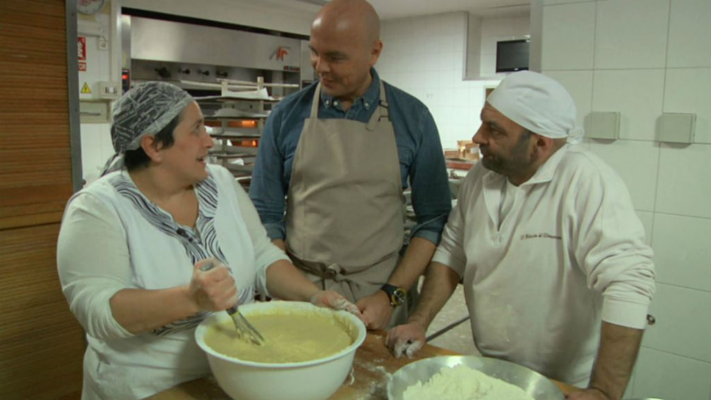 Aquí la Tierra - Aprendemos a elaborar torta escudella