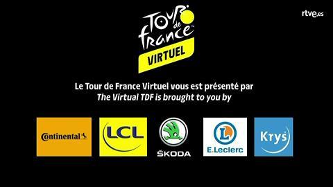 April Tacey repite victoria en la cuarta etapa del Tour Virtual