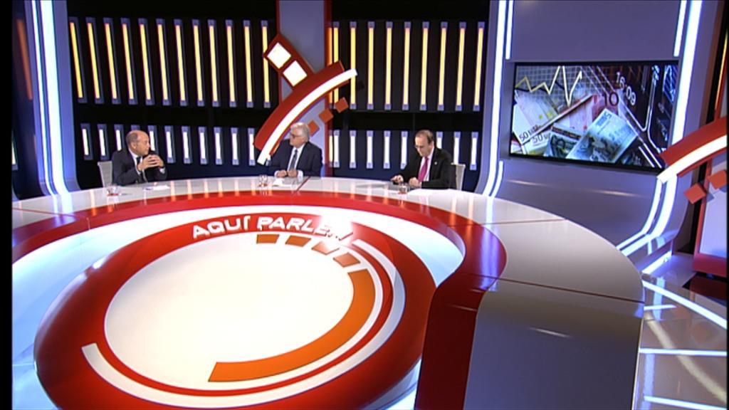 Les eleccions europees amb  Anton Gasol i Xavier Ferrer