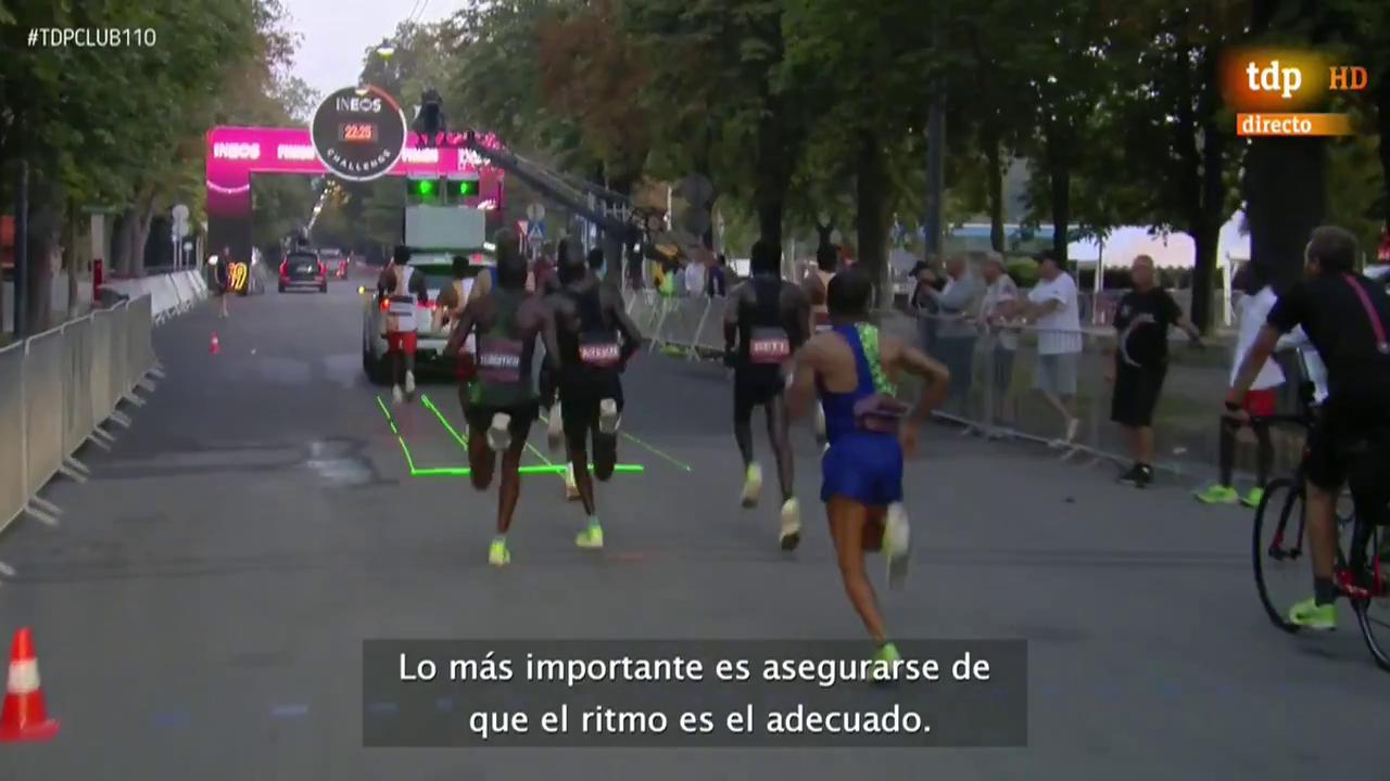 Así ha preparado Kipchoge su intento de bajar de dos horas en maratón