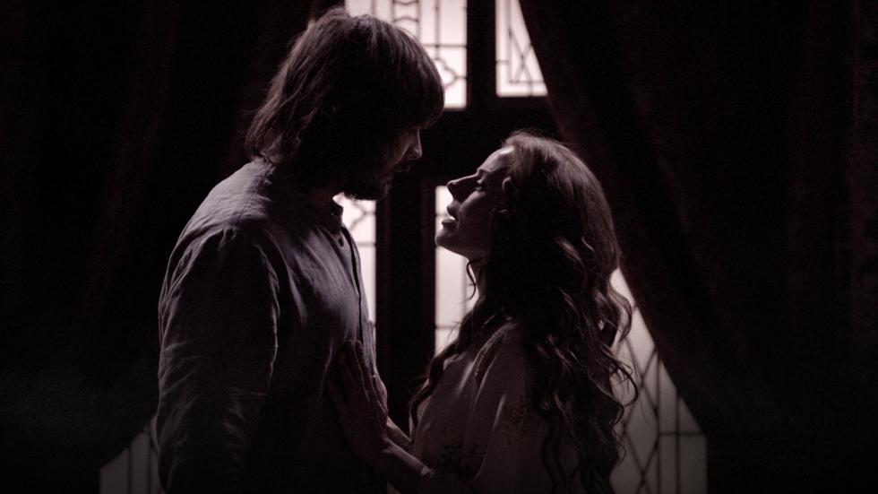 El siglo de Águila Roja - Así se rodó la declaración de amor de Lucrecia a Gonzalo