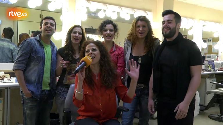 """Eurovisión 2012 - Así suena el coro de """"Quédate conmigo"""""""
