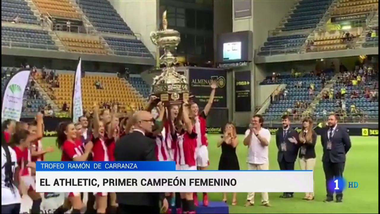 El Athletic se lleva el primer Carranza femenino