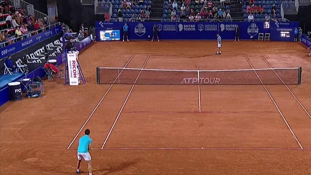 Tenis - ATP 250 Torneo Córdoba: G. Andreozzi - J. Munar