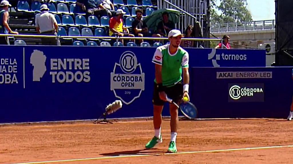 Tenis - ATP 250 Torneo Córdoba: P. Cachin - P. Carreño