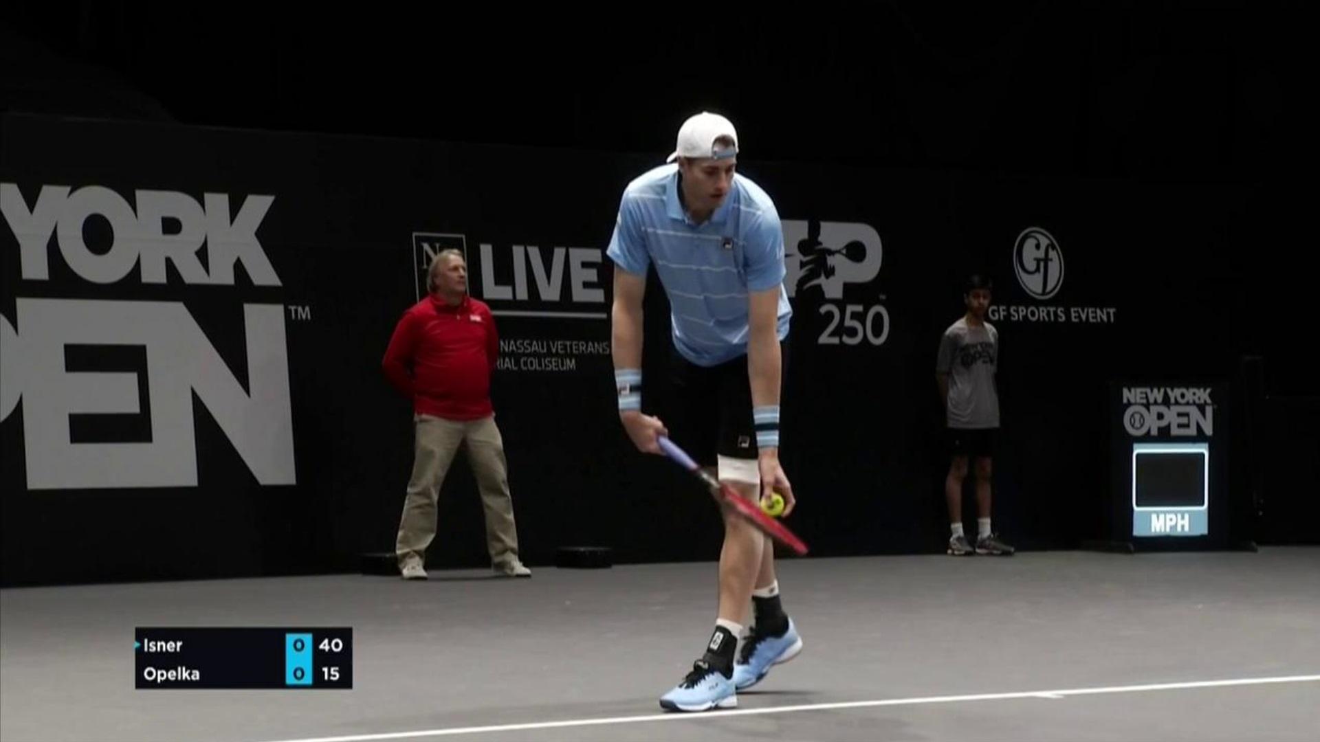 Tenis - ATP 250 Torneo Long Island (EEUU), 2ª Semifinal: J. Isner - R. Opelka