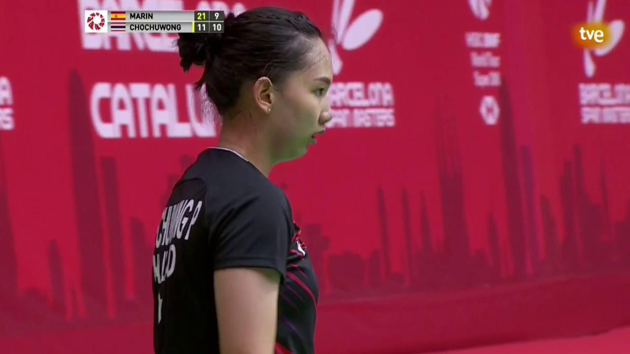 Barcelona Spain Masters Final: C. Marín - P. Chochuwong