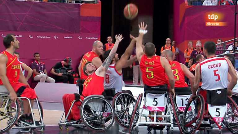 Juegos Paralímpicos Londres 2012 - Baloncesto en silla de ruedas 5. 8º lugar: España-Turquía