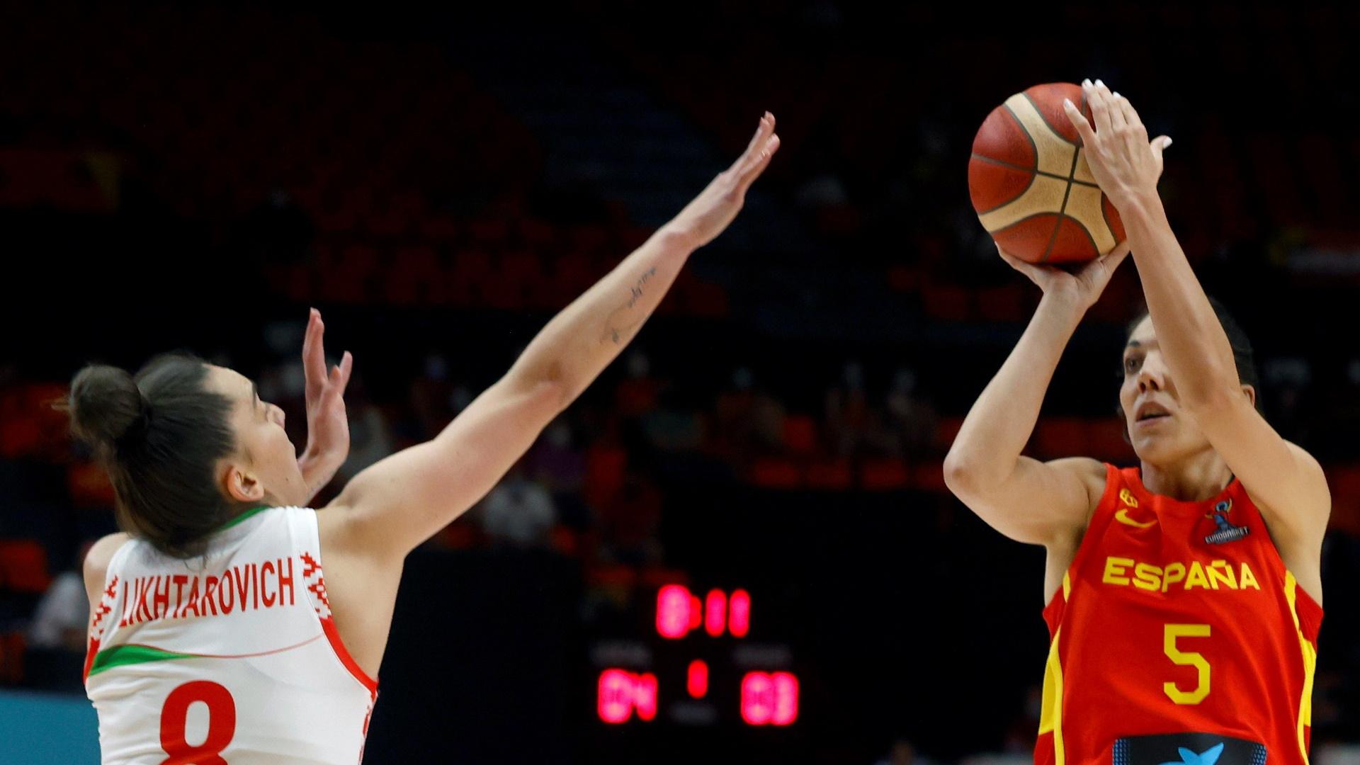 Campeonato de Europa Femenino: España - Bielorrusia
