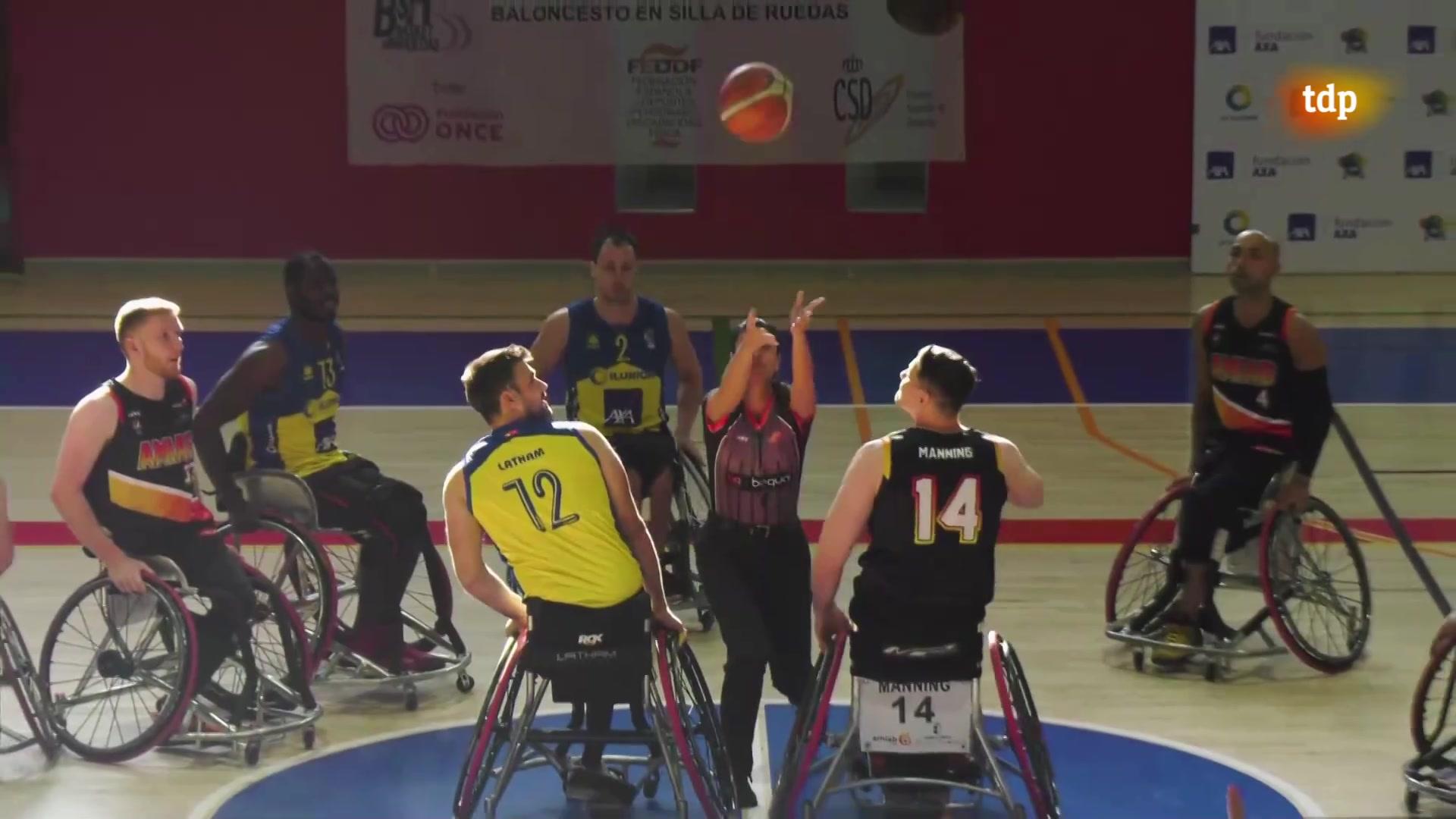 Baloncesto en silla de ruedas - Liga BSR División honor. Resumen jornada 19