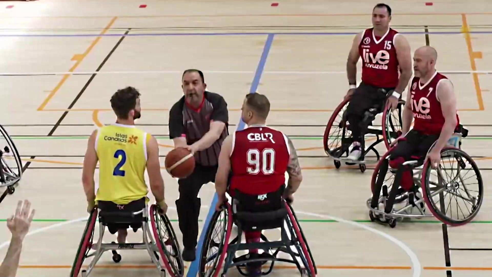 Baloncesto en silla de ruedas - Liga BSR División honor. Resumen jornada 20