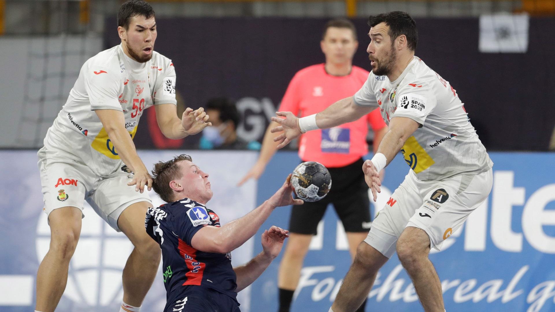 Campeonato Mundo masculino: 1/4 Final: España - Noruega