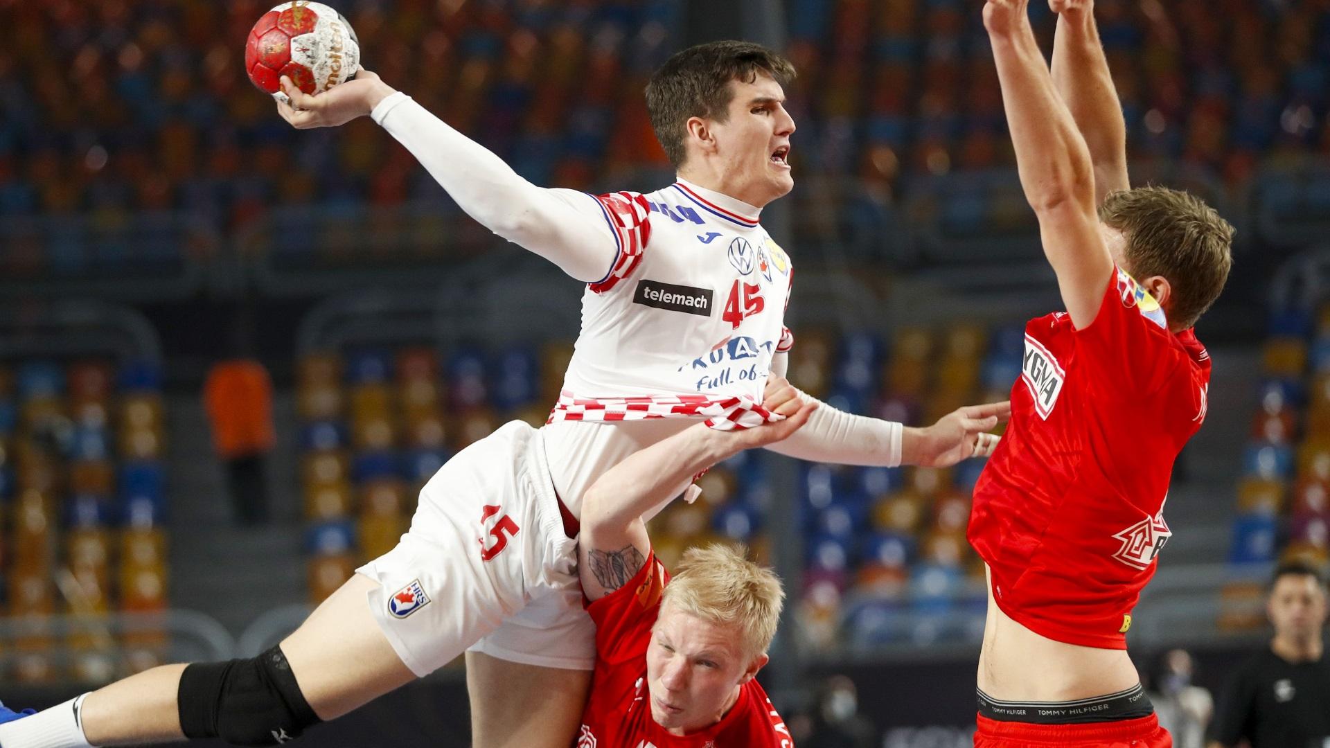 Campeonato del Mundo masculino. 2ª fase: Dinamarca - Croacia