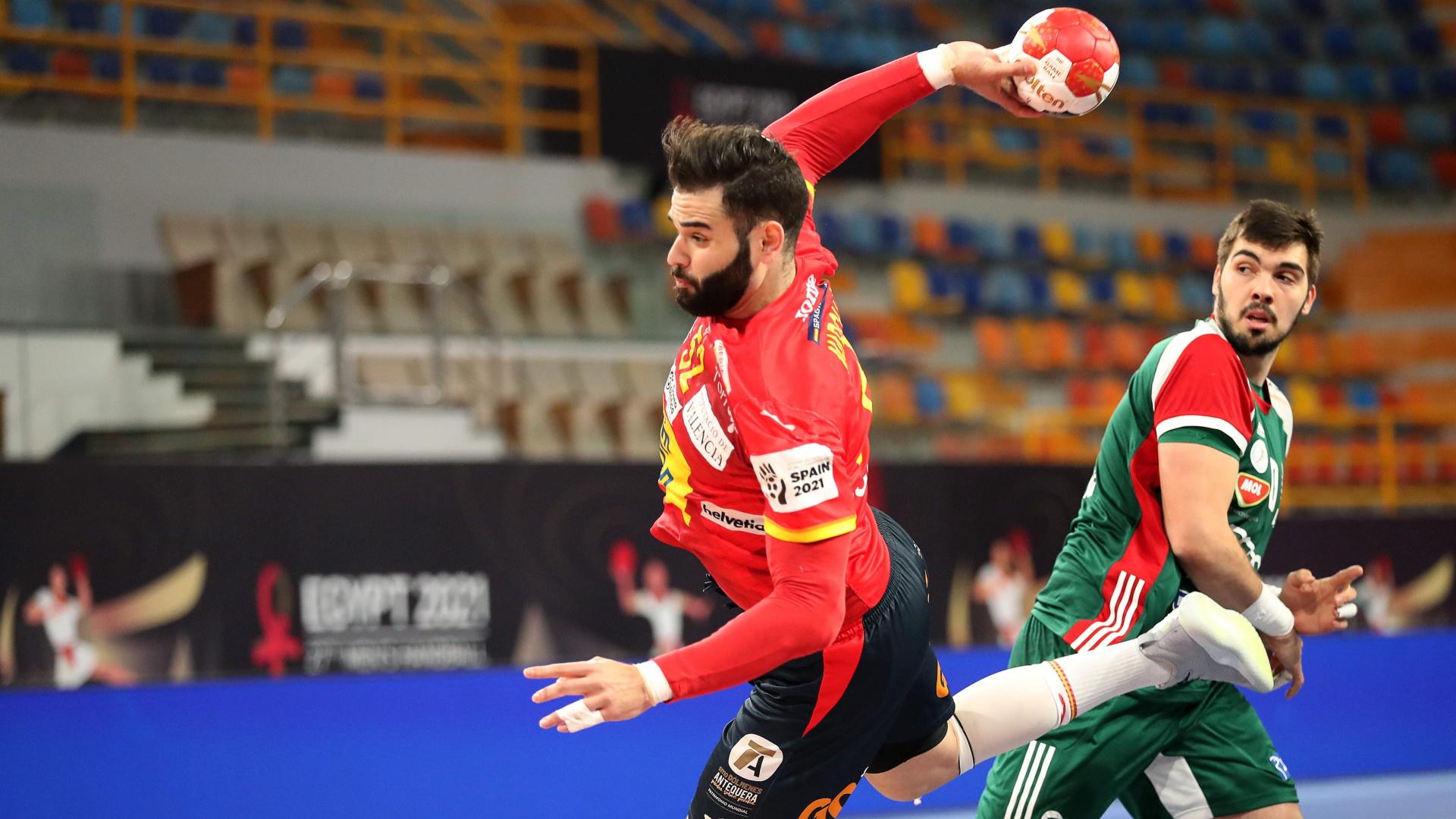 Campeonato del Mundo masculino. 2ª fase: España - Hungría
