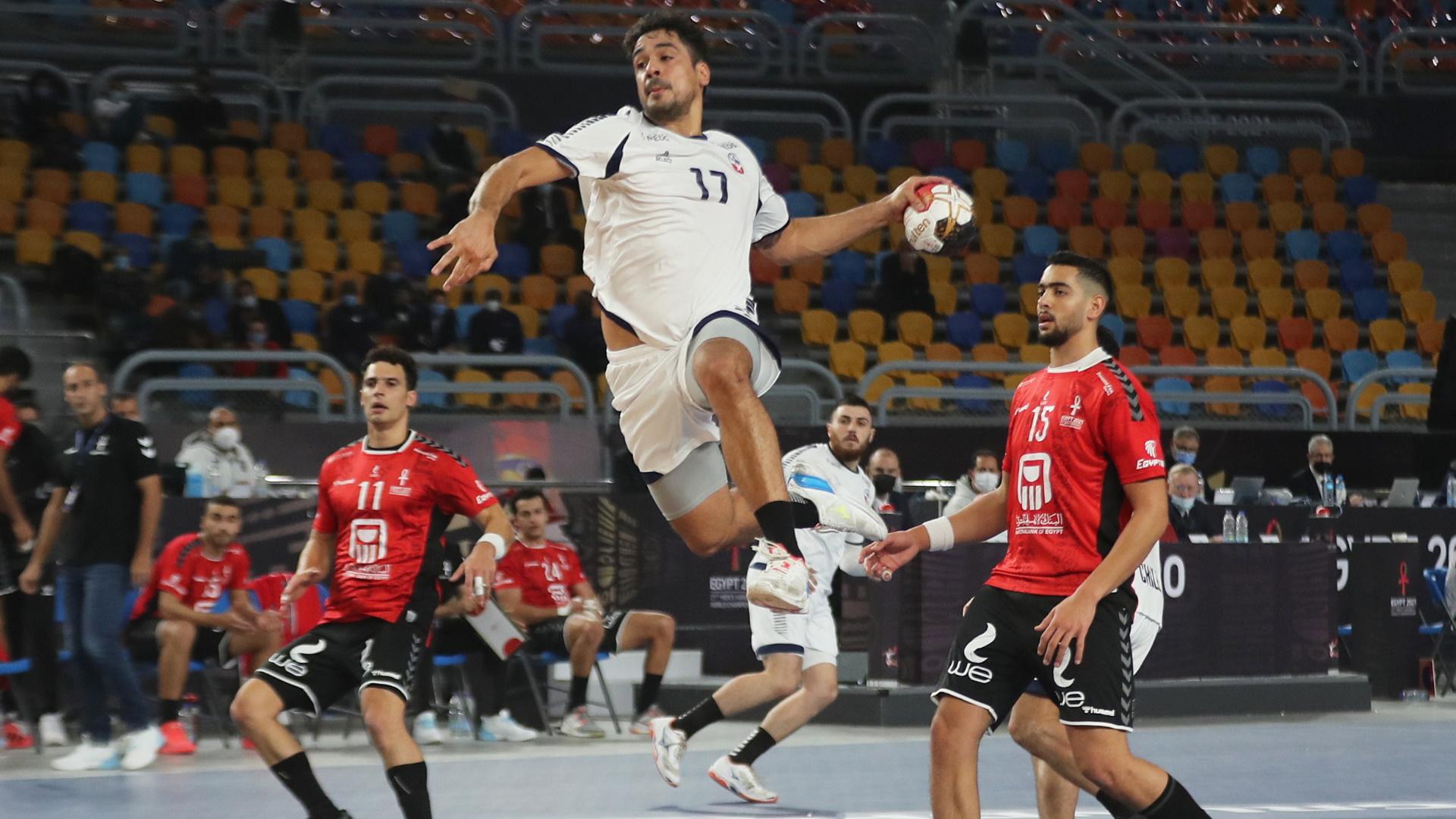 Campeonato del Mundo masculino: Egipto - Chile