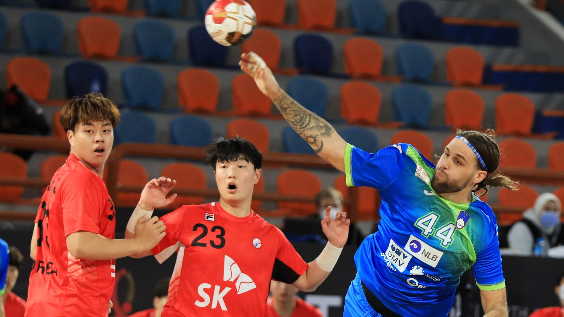 Campeonato del Mundo masculino: Eslovenia - Corea