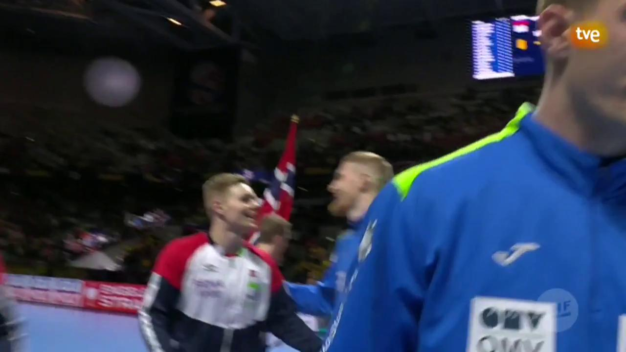 Campeonato de Europa Masculino: Eslovenia - Noruega