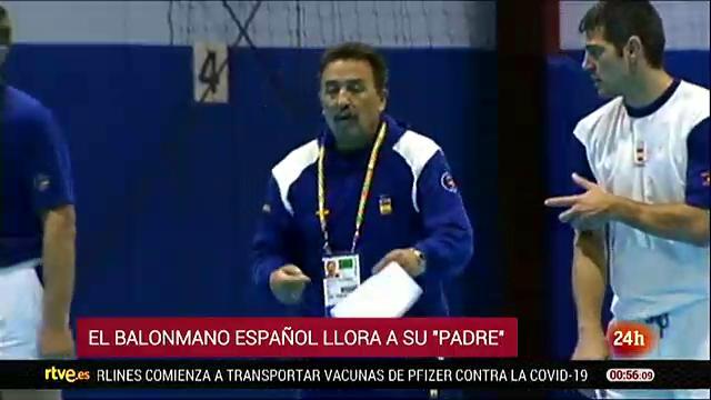 El balonmano español de luto por la muerte de Juan de Dios Román