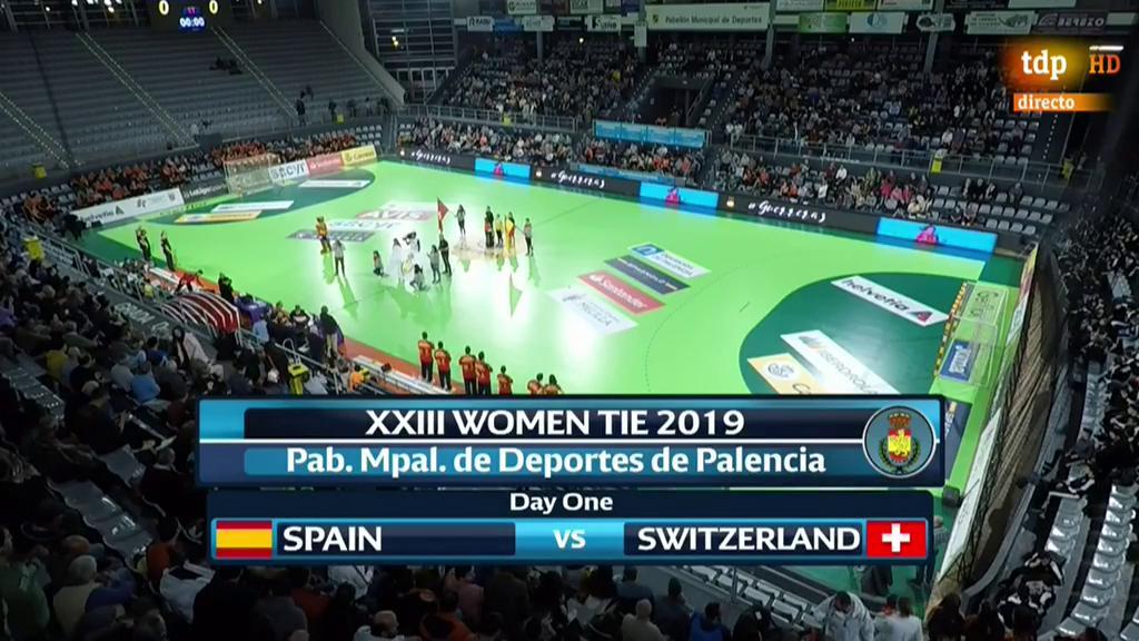 Torneo Internacional de España Femenino: España - Suiza