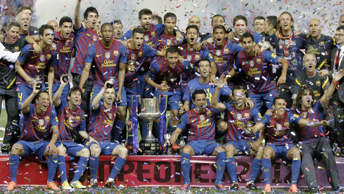 El Barcelona, campeón de la Copa del Rey 2012