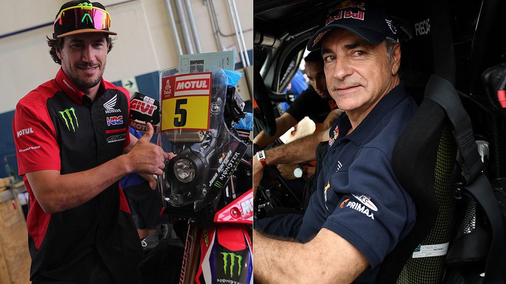 Barreda y Sainz comienzan con buen pie el Dakar