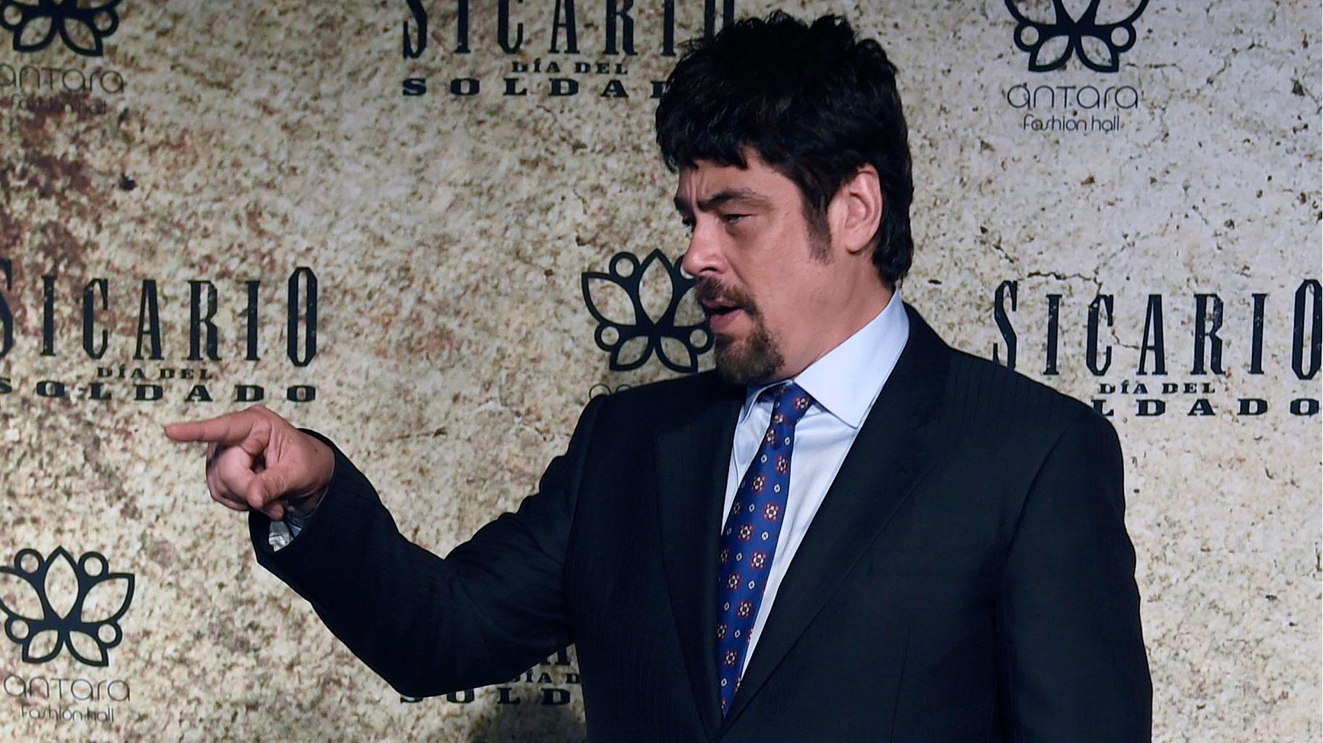 Benicio del Toro nos habla sobre su papel en 'Sicario 2: El día del soldado'
