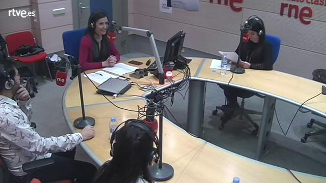 Pedro Pablo Cámara y Karla Martínez en 'Café Zimmermann'
