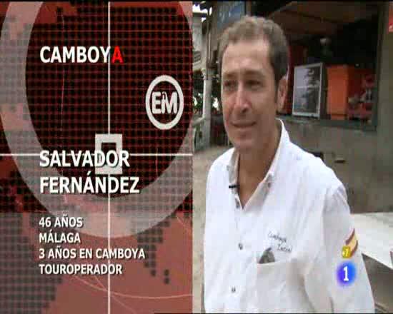 Españoles en el mundo - Camboya - Salva
