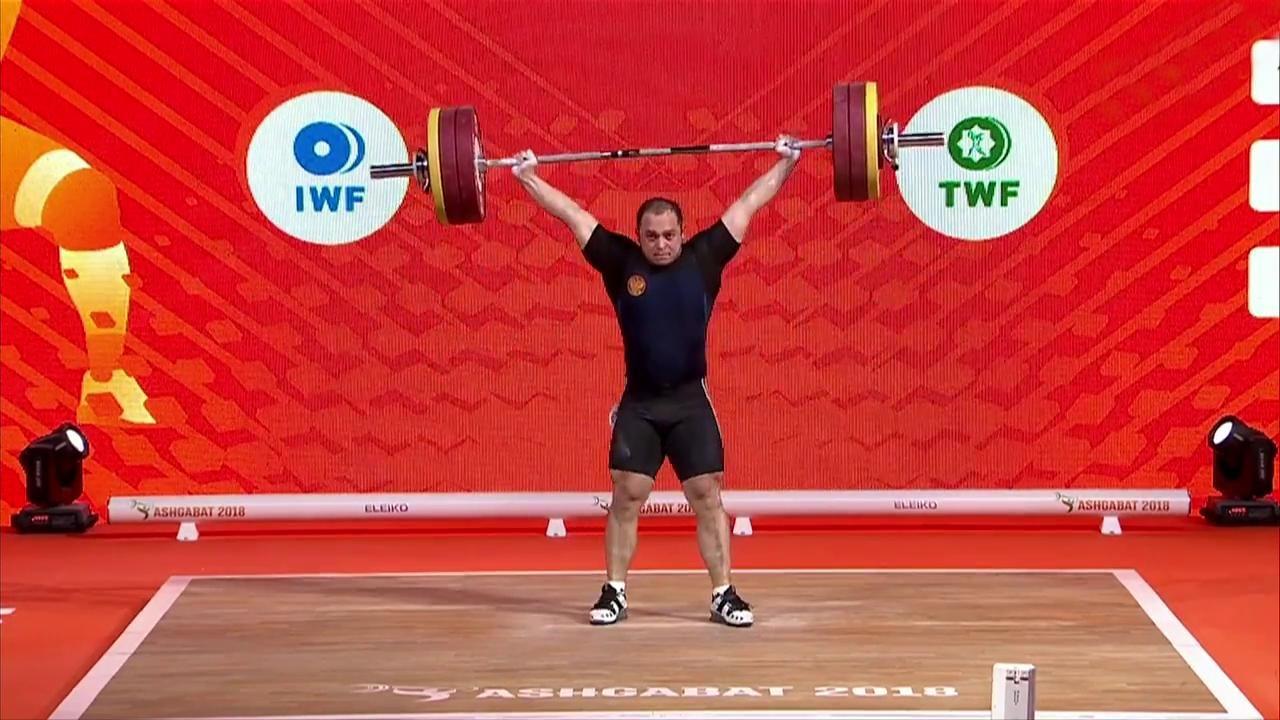 Halterofilia - Campeonato del Mundo 2018 Final 89 Kgs. Masculinos