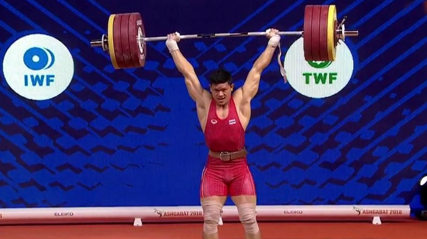 Halterofilia - Campeonato del Mundo 2018 Final 96 Kgs. Masculinos