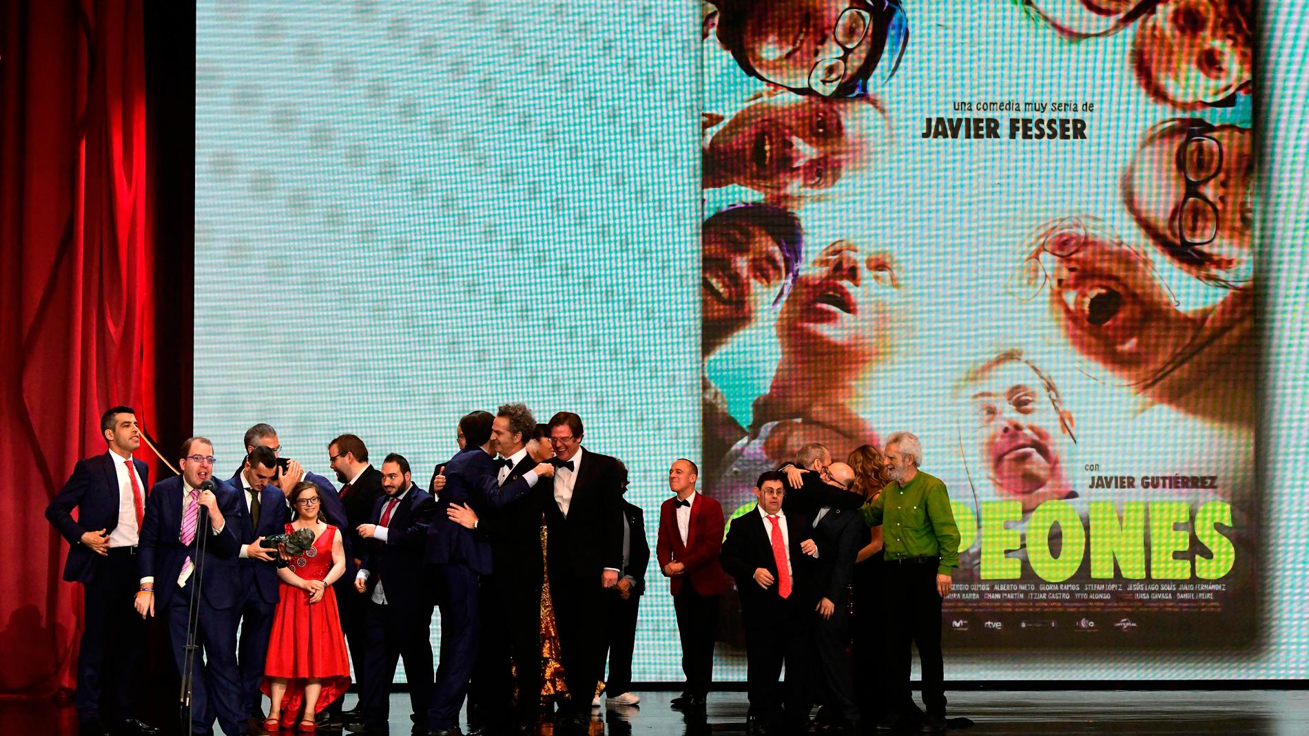 Los campeones de Fesser se llevan el Goya a la mejor película