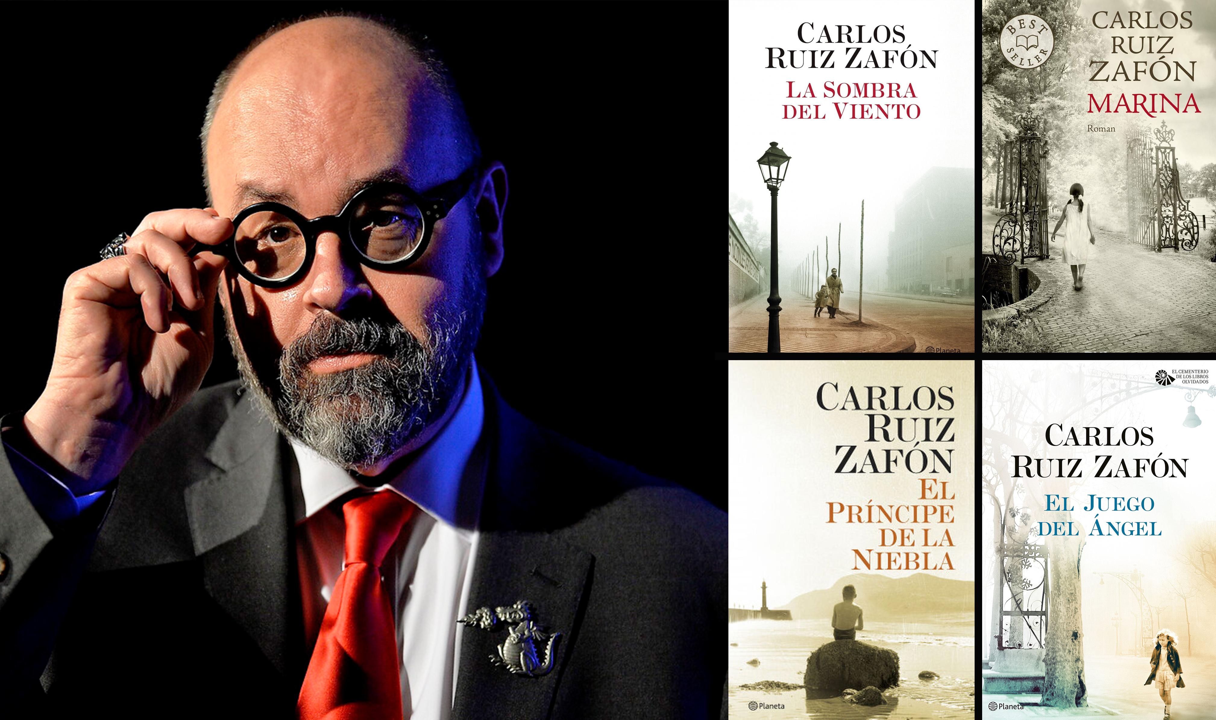 Los Libros De Carlos Ruiz Zafón Guía De Lectura Rtve