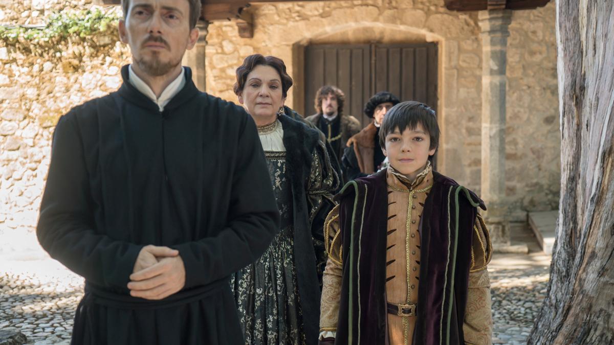 Carlos, Rey Emperador - Carlos V reconoce a Jerónimo
